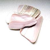 Материалы для творчества ручной работы. Ярмарка Мастеров - ручная работа Кусочки раковин розовой мидии. Handmade.