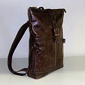 Сумки и аксессуары handmade. Livemaster - original item Backpack leather 151. Handmade.