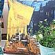 Текстиль, ковры ручной работы. Ярмарка Мастеров - ручная работа. Купить Подушка декоративная Терраса ночного кафе в Арле Ван Гог. Handmade.