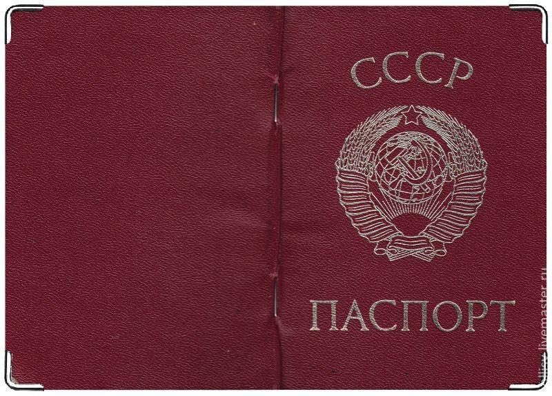 Картинки по запросу паспорт ссср