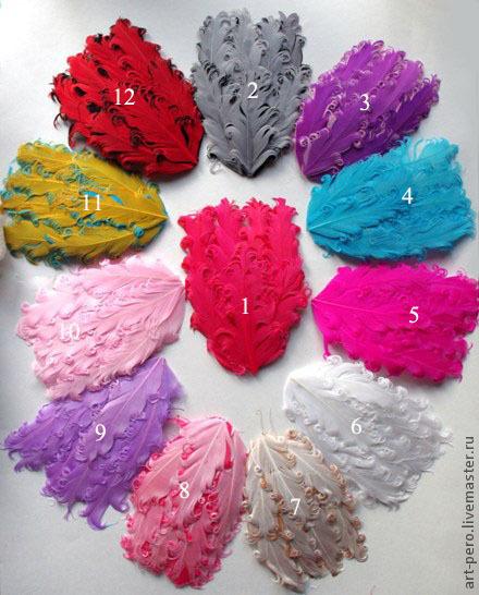 """Другие виды рукоделия ручной работы. Ярмарка Мастеров - ручная работа. Купить Основа для ободка из перьев """"Кудри"""" различные цвета.. Handmade."""