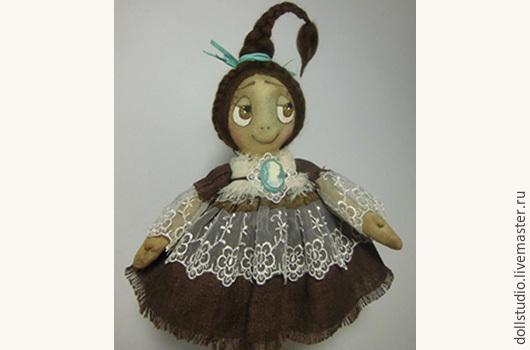 """Ароматизированные куклы ручной работы. Ярмарка Мастеров - ручная работа. Купить Кукла кофейная """"Капелька утреннего кофе"""". Handmade."""