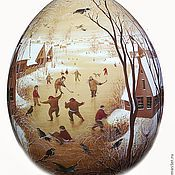 Сувениры и подарки ручной работы. Ярмарка Мастеров - ручная работа яйцо Брейгель. Handmade.