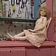 Коллекционные куклы ручной работы. Ева. Татьяна Завальская. Интернет-магазин Ярмарка Мастеров. Шарнирная кукла, стекло