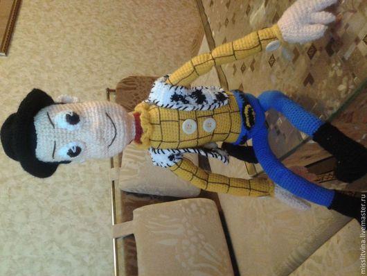 Сказочные персонажи ручной работы. Ярмарка Мастеров - ручная работа. Купить вязаная игрушка Вуди. Handmade. Вязание крючком