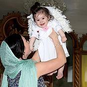 Работы для детей, ручной работы. Ярмарка Мастеров - ручная работа платье крестильное АННА. Handmade.
