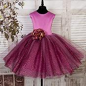 Работы для детей, ручной работы. Ярмарка Мастеров - ручная работа Нарядное платье для девочки Платье на выпускной Пышное платье. Handmade.