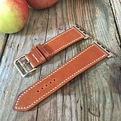 Украшения handmade. Livemaster - original item Leather watchband. Handmade.