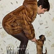 Одежда ручной работы. Ярмарка Мастеров - ручная работа Шубка-баллон из норки. Handmade.