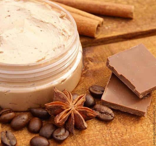 """Масла и смеси ручной работы. Ярмарка Мастеров - ручная работа. Купить Крем-шоколад """"Люкс"""" (взбитый баттер). Handmade. Шоколадный"""