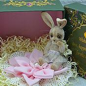 """Куклы и игрушки ручной работы. Ярмарка Мастеров - ручная работа зайка """"Дюймовочка"""":). Handmade."""