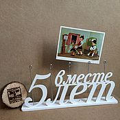 Подарки к праздникам ручной работы. Ярмарка Мастеров - ручная работа Подставка для фотографий. Handmade.