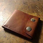 Сумки и аксессуары handmade. Livemaster - original item Wallet made of genuine leather compact. Handmade.