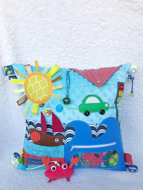 Развивающая игрушка подушка Крабик на море, Подарки, Москва, Фото №1