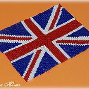 Сувениры и подарки ручной работы. Ярмарка Мастеров - ручная работа Британский флаг. Handmade.