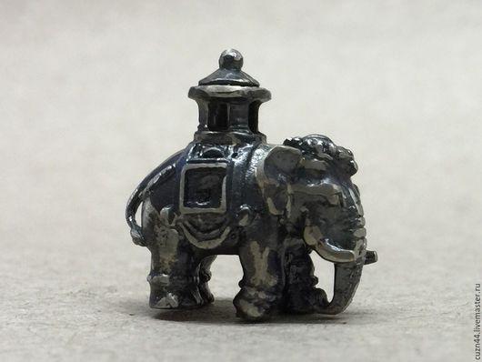Миниатюрные модели ручной работы. Ярмарка Мастеров - ручная работа. Купить Слон. Handmade. Литье, литье из нейзильбера, художественное литье