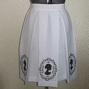 Одежда ручной работы. Ярмарка Мастеров - ручная работа юбка Камея. Handmade.