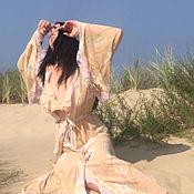Одежда ручной работы. Ярмарка Мастеров - ручная работа Пеньюар Цветущие травы. Handmade.