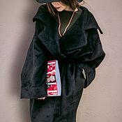 Одежда handmade. Livemaster - original item Black chic coat