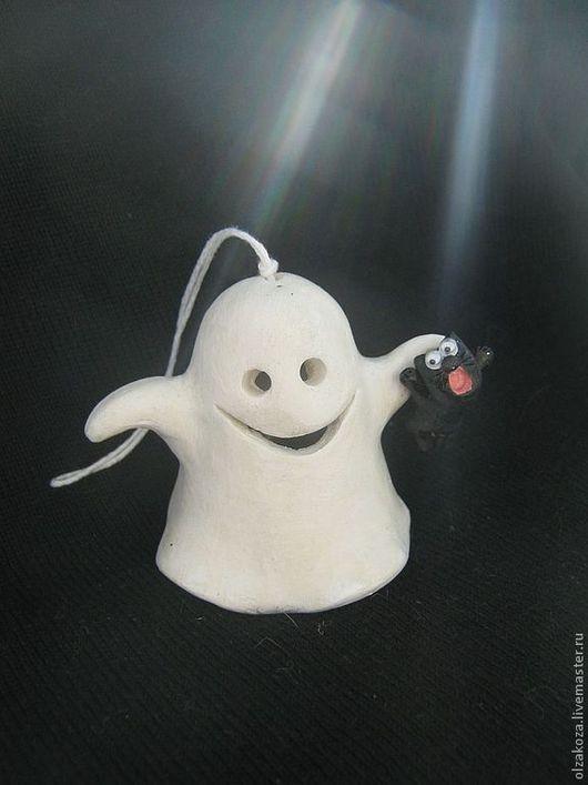 Подарки на Хэллоуин ручной работы. Ярмарка Мастеров - ручная работа. Купить А вы верите в привидения? Колокольчики. Handmade. Колокольчики, юмор