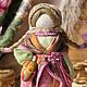 Народные куклы ручной работы. Ярмарка Мастеров - ручная работа. Купить Святозарница. Handmade. Разноцветный, оберег, текстильная кукла