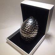 Сувениры и подарки ручной работы. Ярмарка Мастеров - ручная работа Драконье яйцо ручной работы Silver. Handmade.
