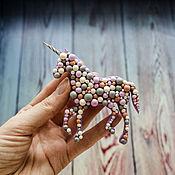 Украшения handmade. Livemaster - original item Brooch Bubble unicorn. Handmade.