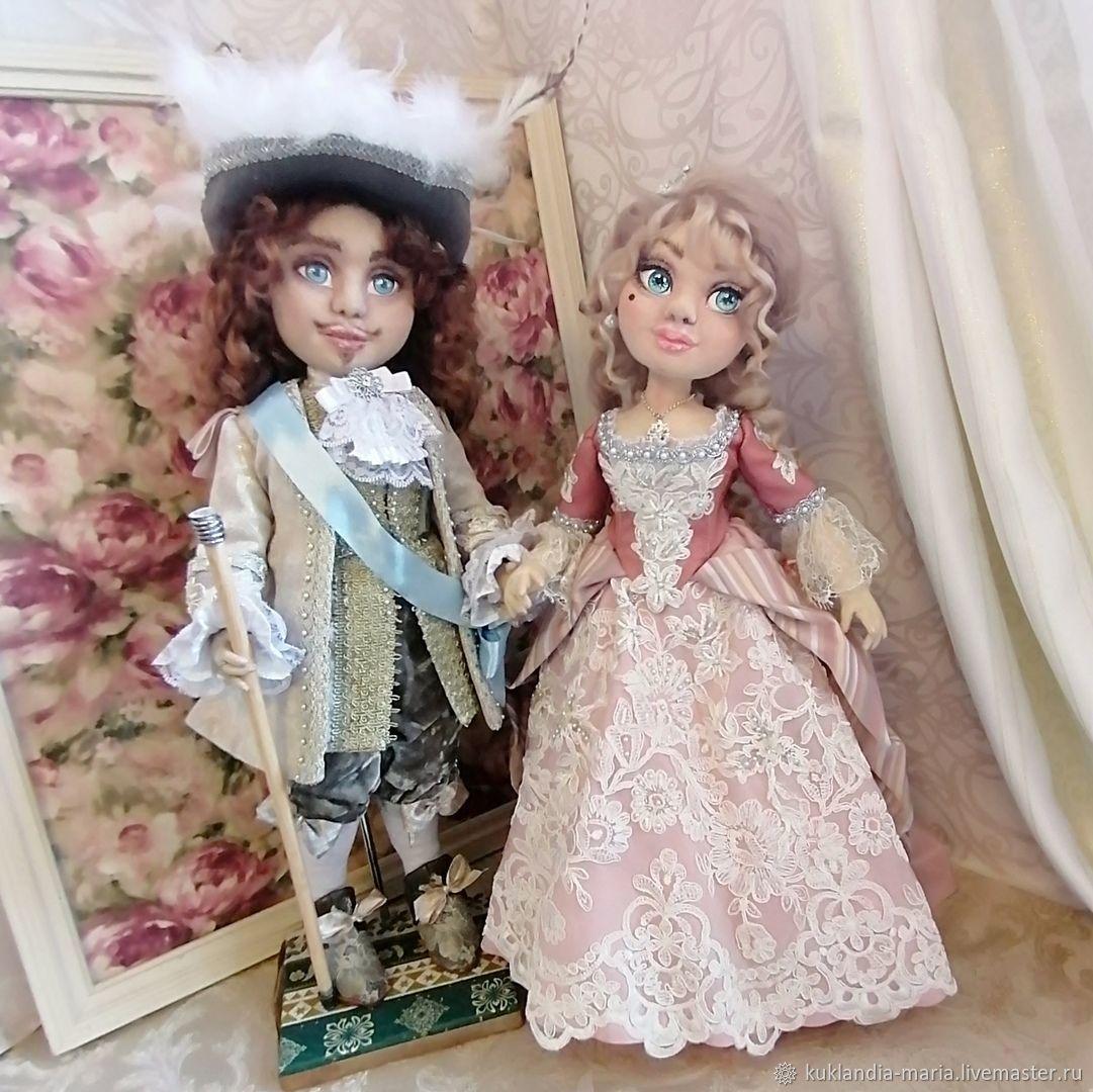Анжелика Маркиза Ангелов и Король Людовик, куклы,, Будуарная кукла, Санкт-Петербург,  Фото №1