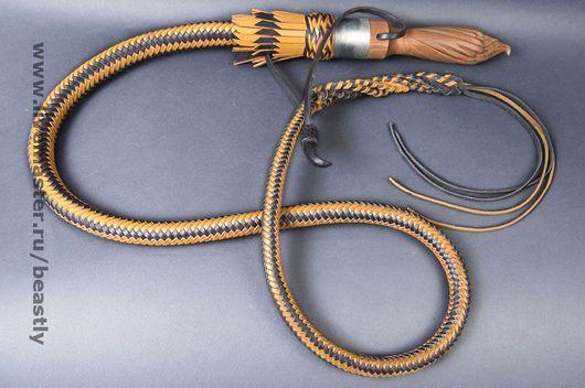 Номер 10587-16-3. Кнут, изделия из кожи, кожаные изделия, кожаное плетение, плетка, ударные девайсы.