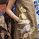Dress-boho 'With the fishes'. Dresses. Алена Тимофеева (indeeza). My Livemaster. Фото №4