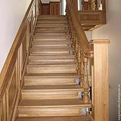 Для дома и интерьера ручной работы. Ярмарка Мастеров - ручная работа Лестницы из массива дерева. Handmade.