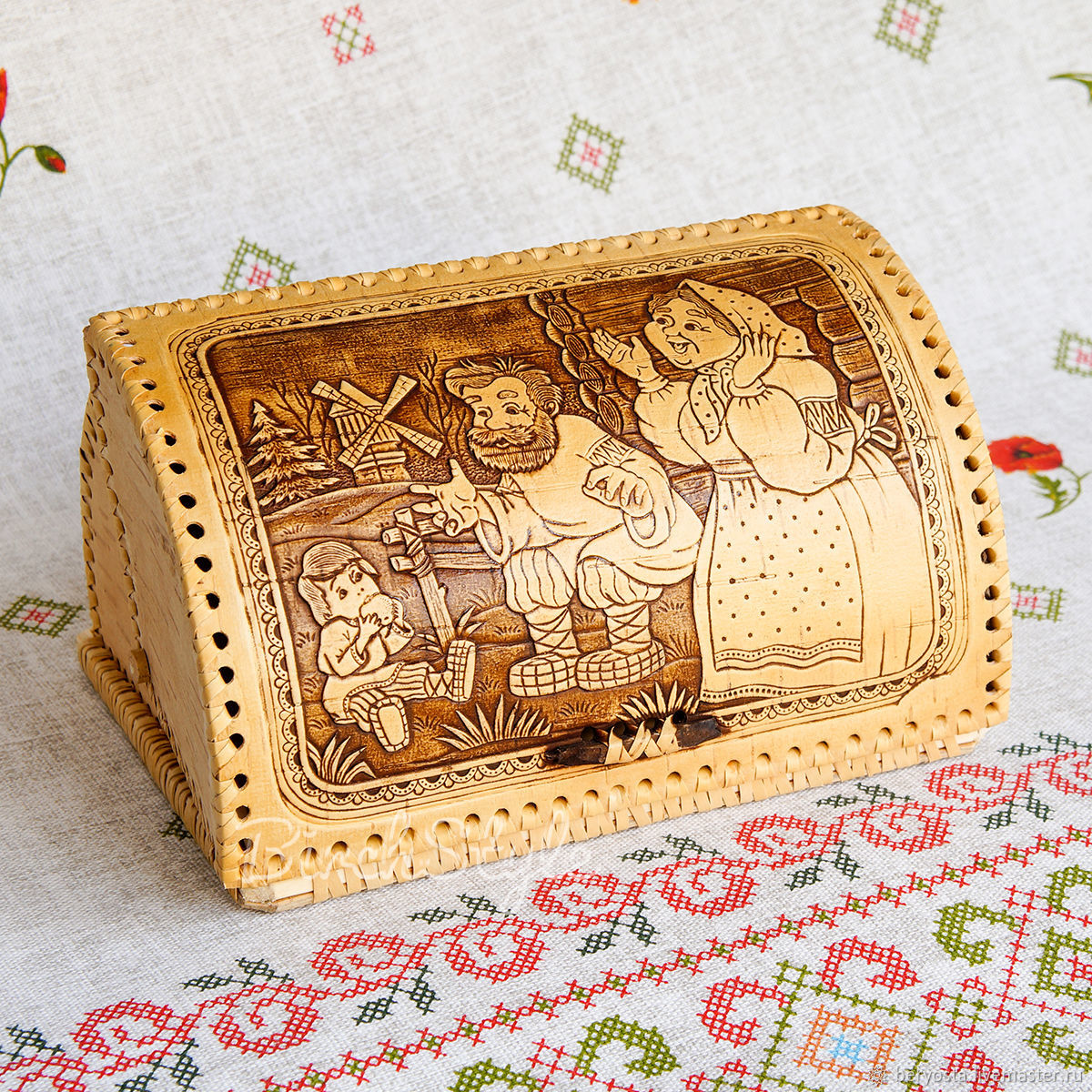 Wooden cat 'Tom thumb'. The rustic kitchen, Ware in the Russian style, Novosibirsk,  Фото №1