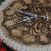 """Для дома и интерьера ручной работы. Ярмарка Мастеров - ручная работа Часы """"Винтажное кружево"""". Handmade."""