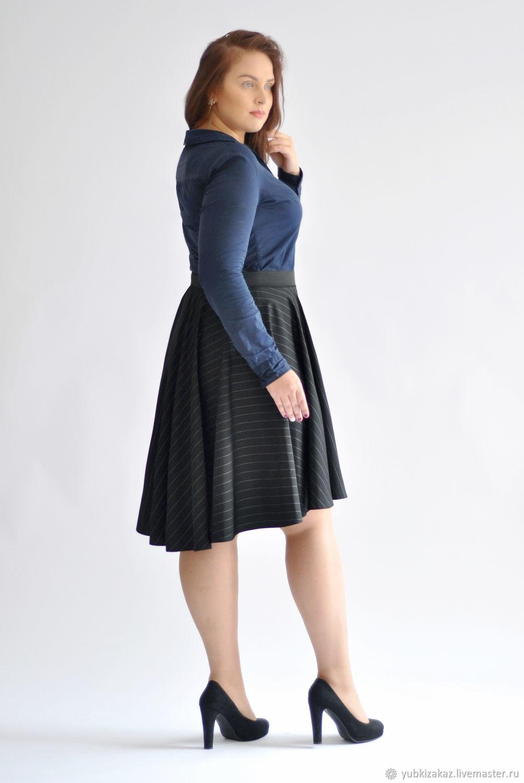 Skirt a cascade of black sun, Skirts, Novosibirsk,  Фото №1