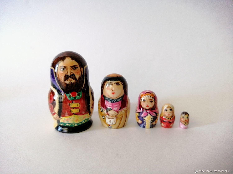 Матрёшка Боярин, Народная кукла, Сергиев Посад,  Фото №1