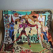 Vintage accessories handmade. Livemaster - original item Vintage Christian Lacroix shawl. Handmade.