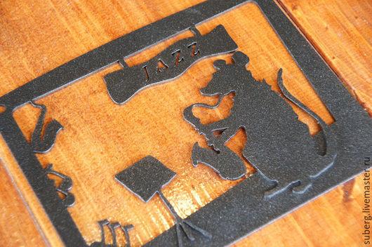 """Животные ручной работы. Ярмарка Мастеров - ручная работа. Купить панно """"Jazz"""". Handmade. Украшение интерьера, подарок мужчине"""