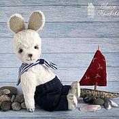 Куклы и игрушки ручной работы. Ярмарка Мастеров - ручная работа Зайка Морячок. Handmade.