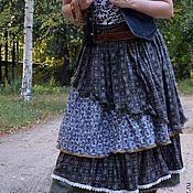 """Одежда ручной работы. Ярмарка Мастеров - ручная работа Юбка в стиле бохо """"Подорожник"""". Handmade."""