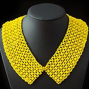 Аксессуары handmade. Livemaster - original item Collar of glass beads. Handmade.