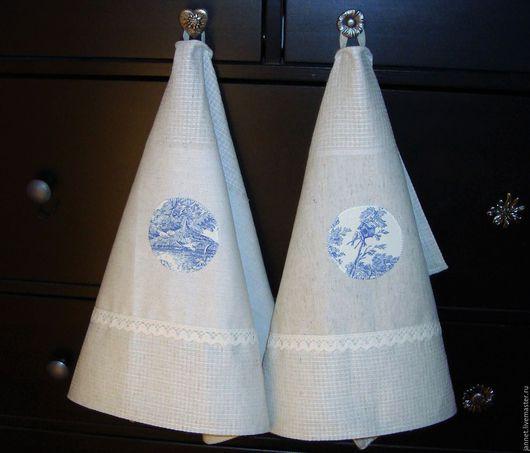 2 полотенца с аппликациями