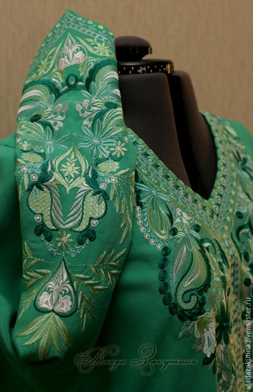 Большие размеры ручной работы. Ярмарка Мастеров - ручная работа. Купить Туника с вышивкой. Любой цвет и размер. Handmade. вышивка