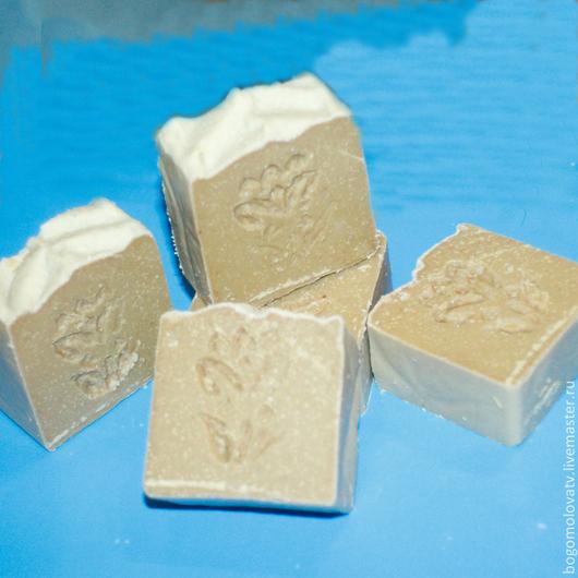 Мыло ручной работы. Ярмарка Мастеров - ручная работа. Купить Мыло с нуля Кастильская лаванда. Handmade. Мыло с нуля, бежевый