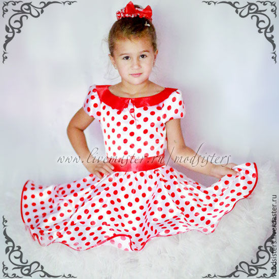 "Copy of Baby dress ""Dandies,"" Art.429, Childrens Dress, Nizhny Novgorod,  Фото №1"