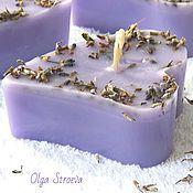 Сувениры и подарки handmade. Livemaster - original item Lavender inspiration. Scented candle handmade. Handmade.
