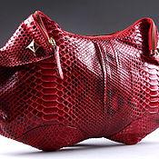 Сумки и аксессуары handmade. Livemaster - original item Bag made from Python IMP0503R. Handmade.