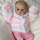 Куклы-младенцы и reborn ручной работы. Злата. Наталия Сомова (mireku). Ярмарка Мастеров. Кукла младенец, marita winters, мохер