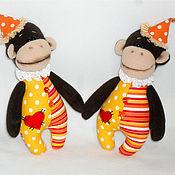 Куклы и игрушки ручной работы. Ярмарка Мастеров - ручная работа Цирковая обезьянка. Handmade.