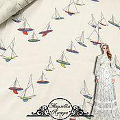 Материалы для творчества manualidades. Livemaster - hecho a mano Сheesecloth fabric. Handmade.