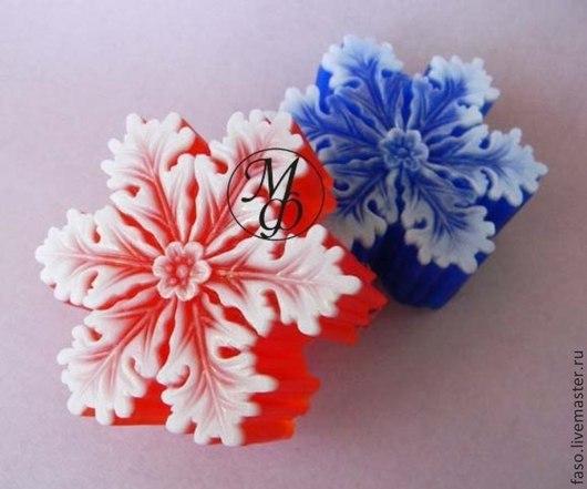 Другие виды рукоделия ручной работы. Ярмарка Мастеров - ручная работа. Купить Силиконовая форма Снежинка-3. Handmade. Розовый
